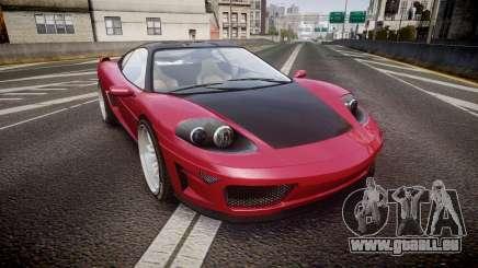 Grotti Turismo GT Carbon v3.0 für GTA 4
