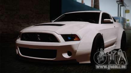 Ford Shelby GT500 RocketBunny SVT Wheels für GTA San Andreas