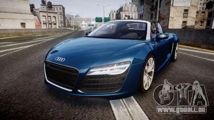 Audi R8 Spyder 2014 [EPM] für GTA 4