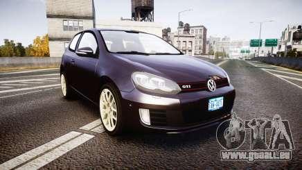 Volkswagen Golf Mk6 GTI rims2 für GTA 4