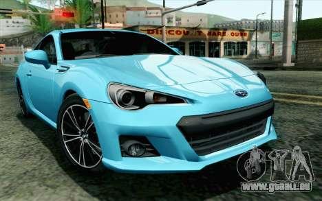 Subaru BRZ 2012 für GTA San Andreas