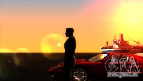 ENBSeries pour les faibles PC v5 pour GTA San Andreas cinquième écran