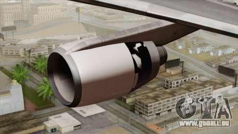 Lookheed L-1011 United Als für GTA San Andreas rechten Ansicht