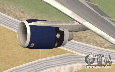 Lookheed L-1011 British Airways für GTA San Andreas rechten Ansicht