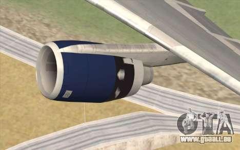 Lookheed L-1011 British Airways pour GTA San Andreas vue de droite