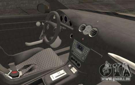 Mercedes-Benz CLK DTM 2004 für GTA San Andreas rechten Ansicht