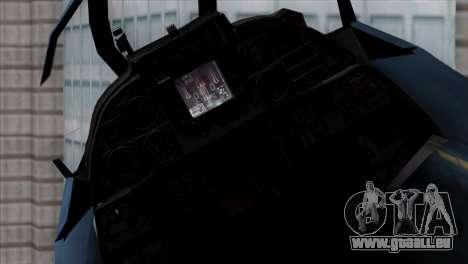 F-14 Japan Air Self Defense Force pour GTA San Andreas vue de droite