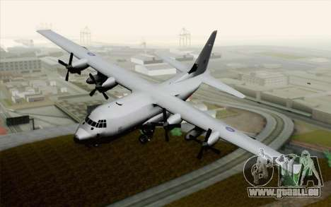 C-130H Hercules RAF pour GTA San Andreas