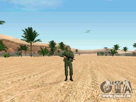 Das russische Militär ist in einer neuen form für GTA San Andreas dritten Screenshot