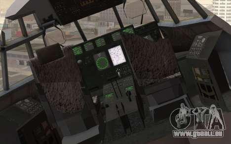 C-130H Hercules RAF pour GTA San Andreas vue arrière