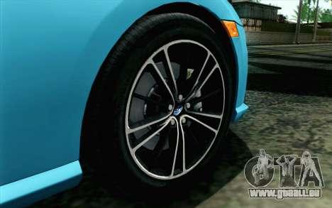 Subaru BRZ 2012 für GTA San Andreas zurück linke Ansicht