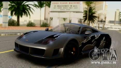 Noble M600 2010 FIV АПП pour GTA San Andreas vue de côté