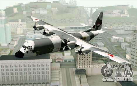 Lockheed C-130 Hercules Indonesian Air Force pour GTA San Andreas