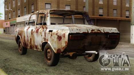 Russian Rustic Moskvitch für GTA San Andreas linke Ansicht