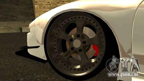 Honda NSX Street Killer pour GTA San Andreas sur la vue arrière gauche