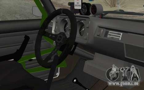 VAZ 2105 Drist-Haken für GTA San Andreas rechten Ansicht