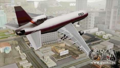 Lookheed L-1011 PSA pour GTA San Andreas laissé vue