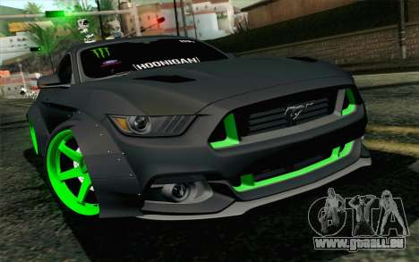 Ford Mustang 2015 Monster Edition für GTA San Andreas