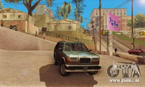 ENB Series v4.0 Final pour GTA San Andreas quatrième écran