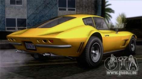 GTA 5 Invetero Coquette Classic HT IVF pour GTA San Andreas laissé vue