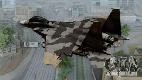 F-15E Yellow Squadron für GTA San Andreas linke Ansicht