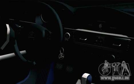 BMW M3 E90 Hamann für GTA San Andreas rechten Ansicht