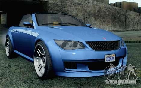 GTA 5 Ubermacht Sentinel Coupe SA Mobile pour GTA San Andreas