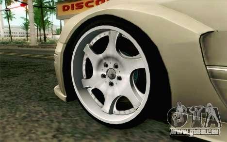 Mercedes-Benz CLK DTM 2004 für GTA San Andreas zurück linke Ansicht