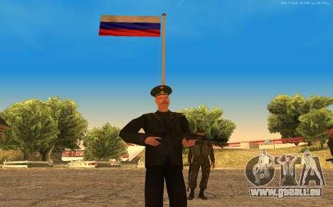 Colonel de l'armée russe pour GTA San Andreas deuxième écran