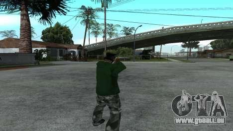 Gold Desert Eagle für GTA San Andreas dritten Screenshot