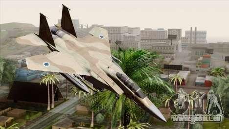 F-15E Strike Eagle Israeli Air Force pour GTA San Andreas