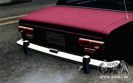 VAZ 2101 Lowrider für GTA San Andreas Rückansicht