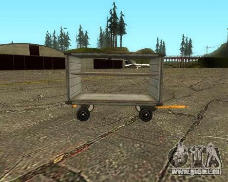 New Bagbox A für GTA San Andreas linke Ansicht
