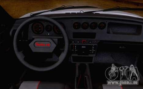 Peugeot 205 Turbo 16 1984 [IVF] pour GTA San Andreas sur la vue arrière gauche