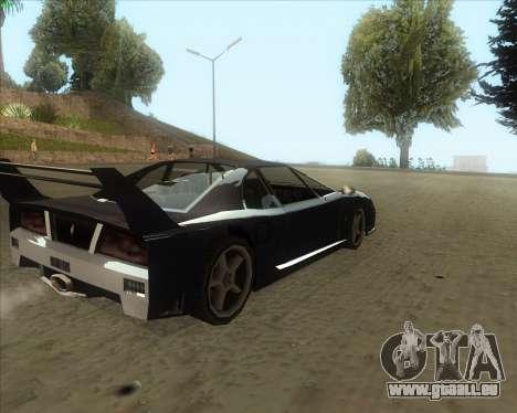 ENB Series New HD pour GTA San Andreas troisième écran