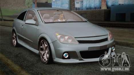 Opel Astra OPC Stock für GTA San Andreas