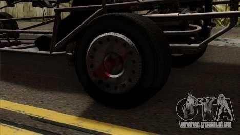 GTA 5 Space Docker pour GTA San Andreas vue arrière