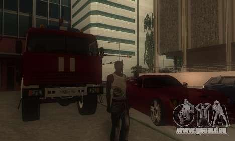 ENB pour les moyennes et PC pour GTA San Andreas troisième écran