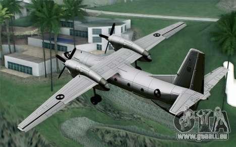AN-32B Croatian Air Force Opened für GTA San Andreas linke Ansicht