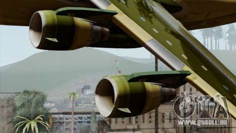 C-17A Globemaster III pour GTA San Andreas vue de droite