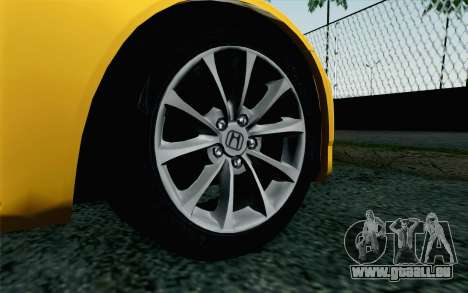 Honda S2000 Cabrio für GTA San Andreas zurück linke Ansicht