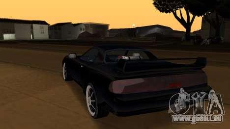 Beta ZR-350 Final pour GTA San Andreas salon