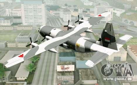 Lockheed C-130 Hercules Indonesian Air Force pour GTA San Andreas laissé vue