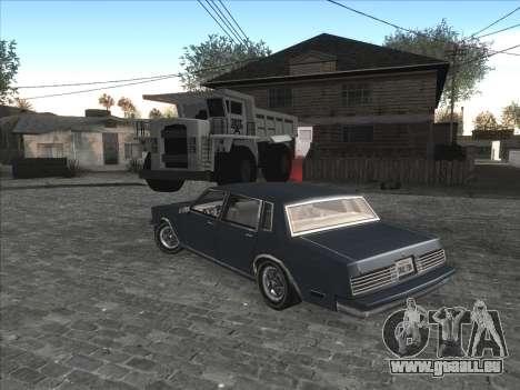 Persönliche Auto auf der Grove Street CJ für GTA San Andreas her Screenshot