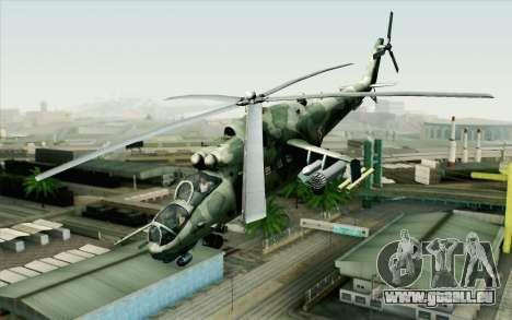 Mi-24D Polish Air Force pour GTA San Andreas