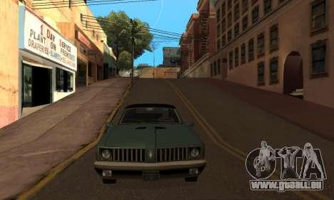 Ändern Bereichen der Banden und Ihre Waffen v1.1 für GTA San Andreas fünften Screenshot
