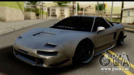 Honda NSX Street Killer für GTA San Andreas