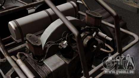 GTA 5 Dune Buggy IVF für GTA San Andreas Rückansicht
