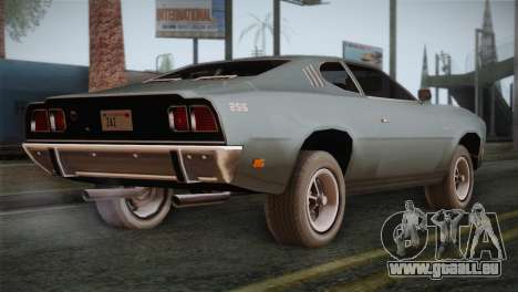 FlatOut 2 Scorpion für GTA San Andreas linke Ansicht
