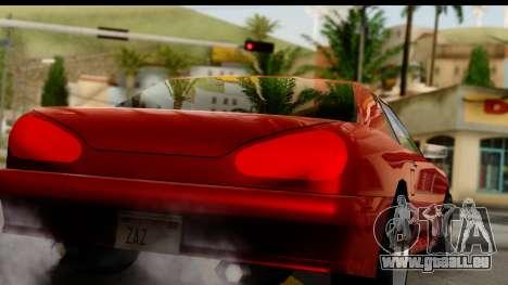 Elegy V1 pour GTA San Andreas vue de droite